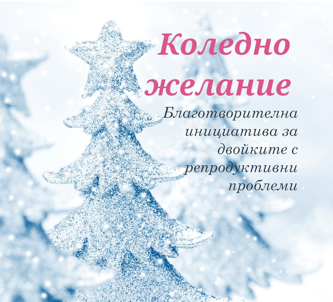 Благотворителна инициатива Коледно желание 2019